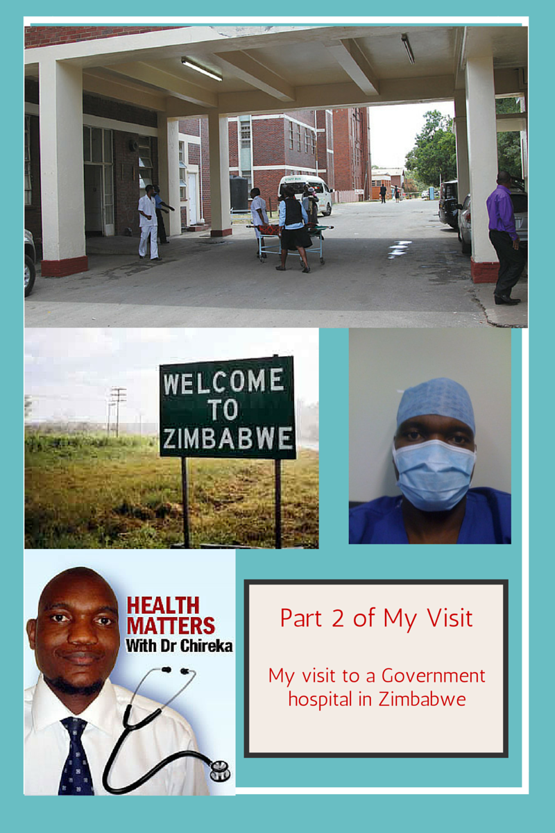 Government hospital in Zimbabwe