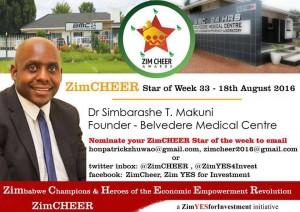 Dr Simbarashe Makuni